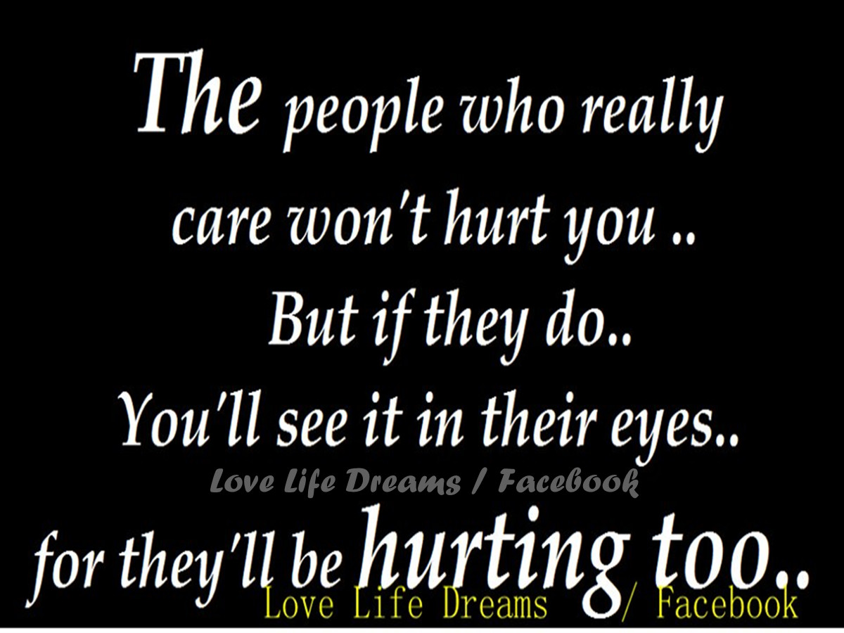 The people who really care won t hurt you 副本