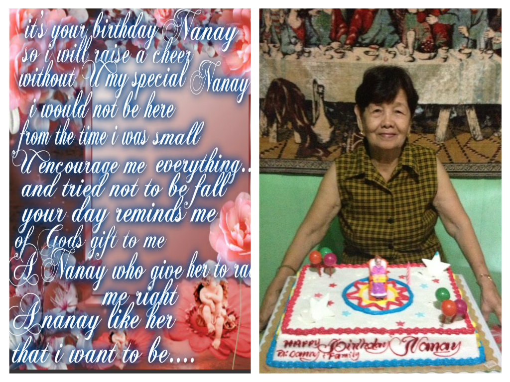 Happy Birthday My Beloved Nanay